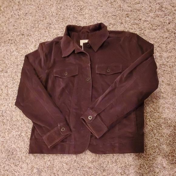 L.L. Bean Jackets & Blazers - LL Bean Velour Jacket